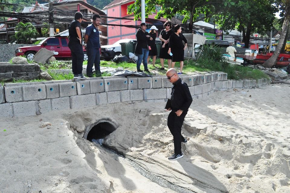 Patong municipality reports untreated wastewater from Kalim hotel to police – VIDEO | The Thaiger