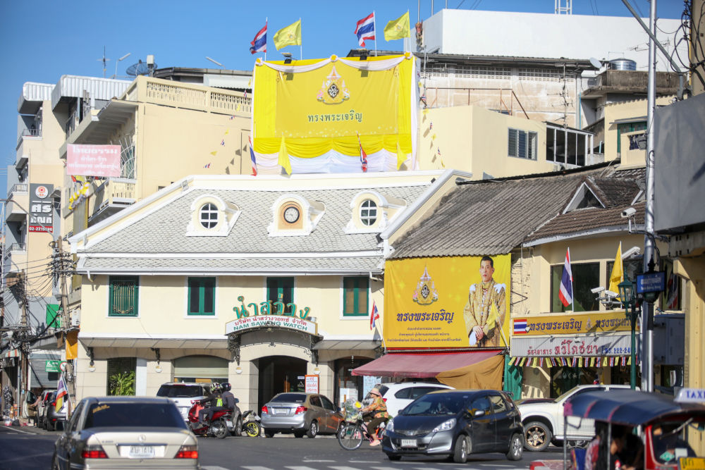 Bangkok resplendent in yellow for this weekend's Royal Coronation | News by Thaiger