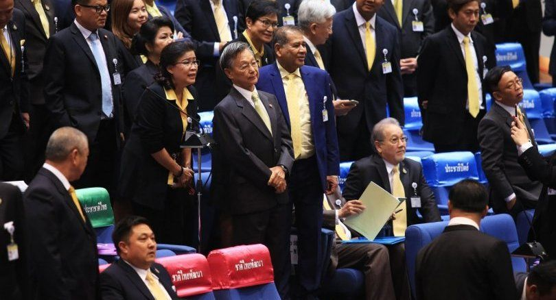Former PM Chuan elected speaker of lower house | The Thaiger