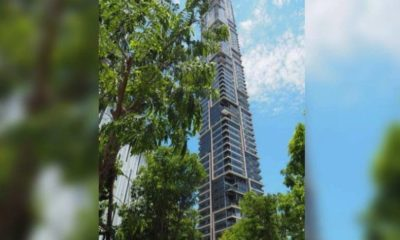 Leaning Tower of Sathorn: not cracked or leaning says Sathorn district chief | The Thaiger