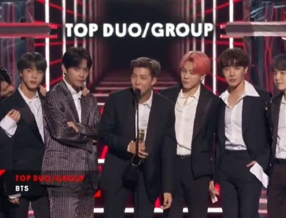 BTS สร้างประวัติศาสตร์ ชนะเลิศรางวัล  Top Duo/Group บนเวที The 2019 Billboard Music Awards | The Thaiger