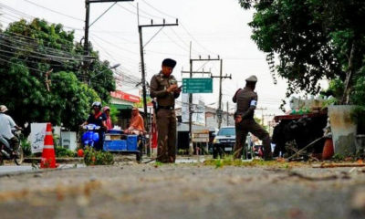 Co-ordinated pipe bomb attacks in Yala injure five | The Thaiger