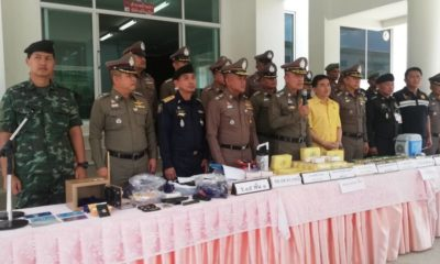 300K meth pills, 10K of crystal meth seized in Krabi | The Thaiger