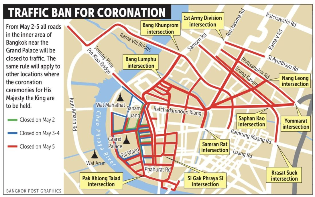 Royal Coronation - Schedule of events   News by Thaiger