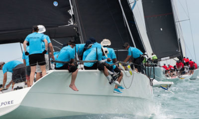 Stellar fleet line-up on Day 1 of Samui Regatta, Thailand | The Thaiger
