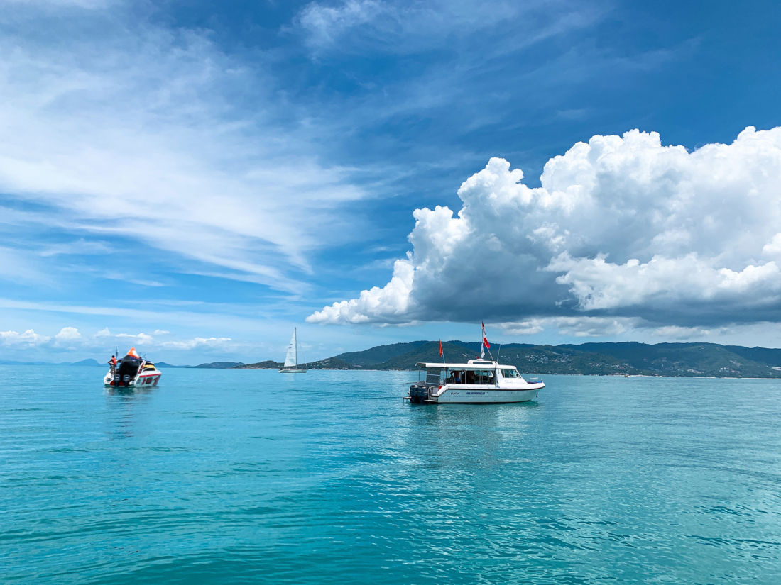 Day 2 of Samui Regatta 2019. A beautiful day, unless you're a sailor.   The Thaiger