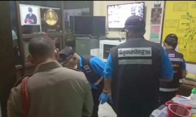 Krabi police officer shoots and kills himself inside police station | The Thaiger