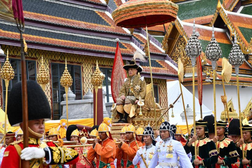 รวมภาพประทับใจ พระราชพิธีบรมราชาภิเษก สรงพระมุรธาภิเษก   News by The Thaiger