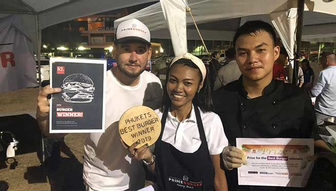 We test drove the winner from the Phuket's best burger competition | The Thaiger