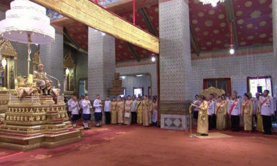 Royal Coronation – HM The King grants grand audience | The Thaiger