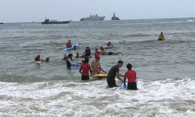 Aussie lifeguards and Navy conduct local lifesaver program | The Thaiger