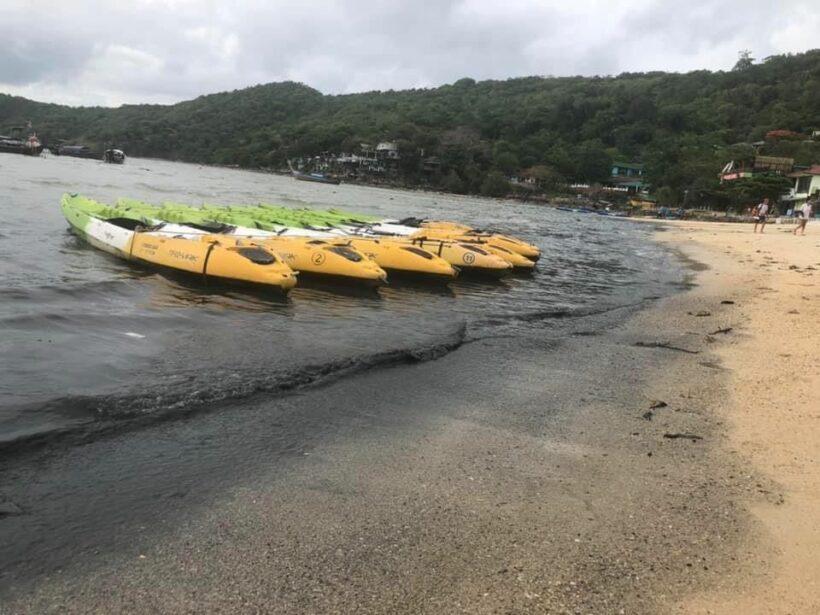 แชร์สนั่นโซเชี่ยล น้ำทะเลพีพี ดำยิ่งกว่าน้ำคลองแสนแสบ นายก ชี้ เกิดจากผู้ประกอบการแอบปล่อยน้ำเสีย | The Thaiger