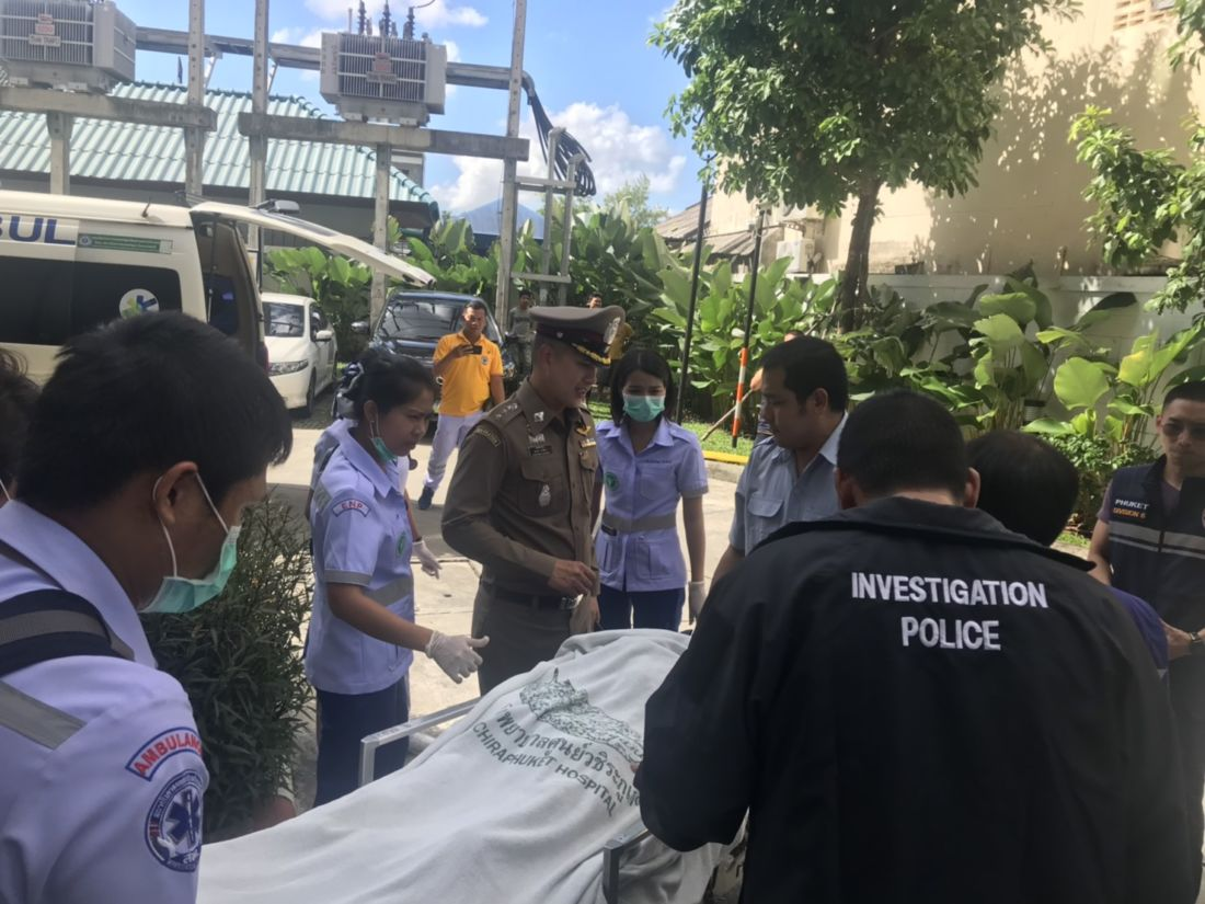 British man, who locked himself in a Phuket condo, removed - VIDEO   News by Thaiger