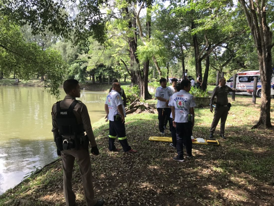 Naked body found floating in Phuket Town public park | The Thaiger