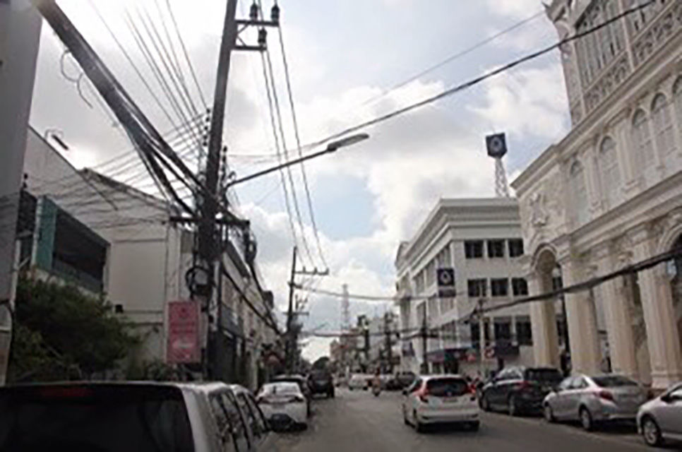 Old Phuket Town underground cable works to be completed by August | News by The Thaiger