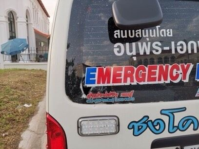 Phuket police hunting for suspects who attacked an ambulance - VIDEO | News by The Thaiger