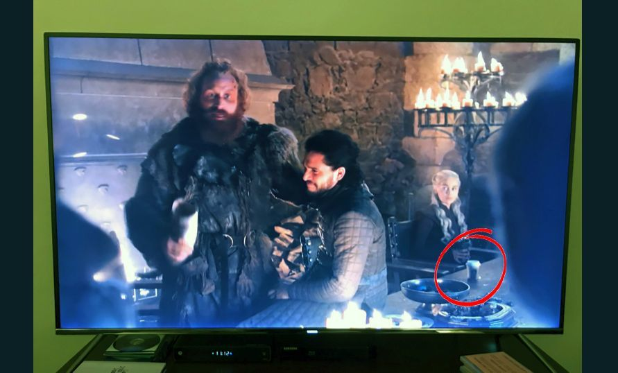 Game of Thrones, with a grande mocha latte thanks | The Thaiger