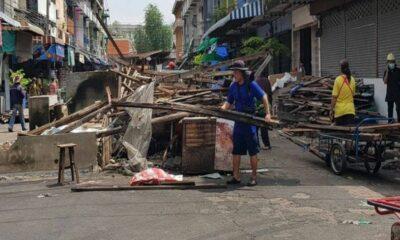 Officials demolish 38 year old Kieat Tong Chai market in Bangkok | The Thaiger