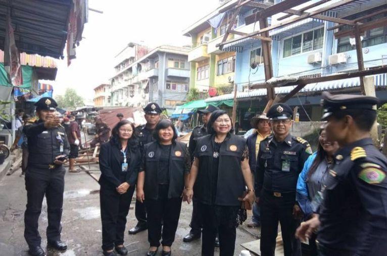 Officials demolish 38 year old Kieat Tong Chai market in Bangkok   News by Thaiger