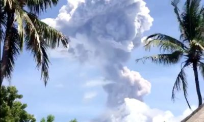 Bali's Mount Agung erupts again | The Thaiger