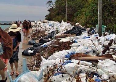 มักง่าย! เกาะล้านขยะท่วม หวั่นกระทบธรรมชาติและการท่องเที่ยว | The Thaiger