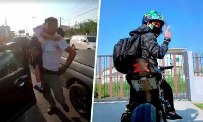 น่าชื่นชม ไบค์เกอร์ช่วยเด็กหญิงช็อคกลางสี่แยก ฝ่ารถติดส่งมือหมอทันเวลา | The Thaiger