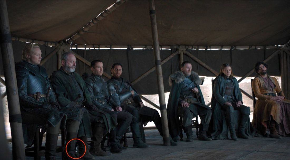 Game of Thrones: Thirsty actors leave water bottle in shot | News by The Thaiger