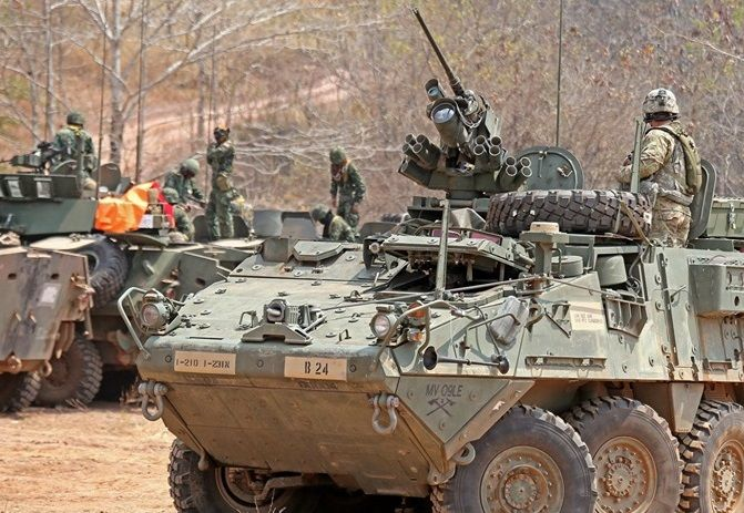 Thailand puts in order for 37 new armoured vehicles from the US | News by Thaiger