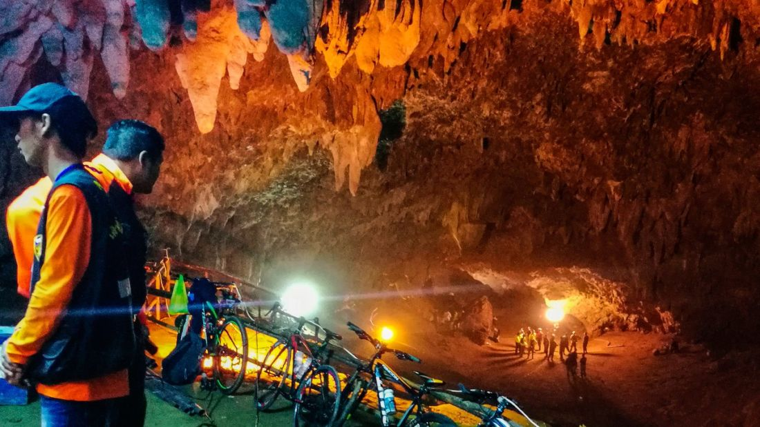 Tham Luang caves to be properly explored and mapped   The Thaiger