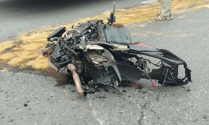 Motorbike rider dies near Rama 5 bridge in Nonthaburi | The Thaiger