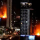 Fire in 40 story unfinished Sathorn condo – VIDEO | The Thaiger