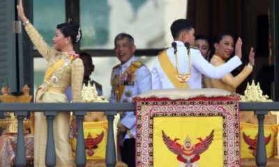 King greets the people in a massive public audience at the Grand Palace | The Thaiger