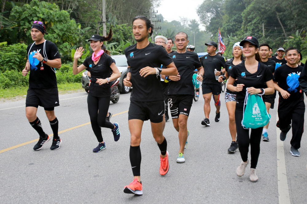 Toon takes to Thailand's roads again for more charity runs | The Thaiger