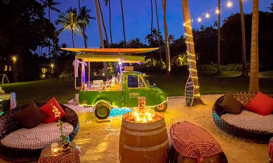 Banyan Tree Samui goes 'retro' with the new Tuk-Tuk Bar | The Thaiger