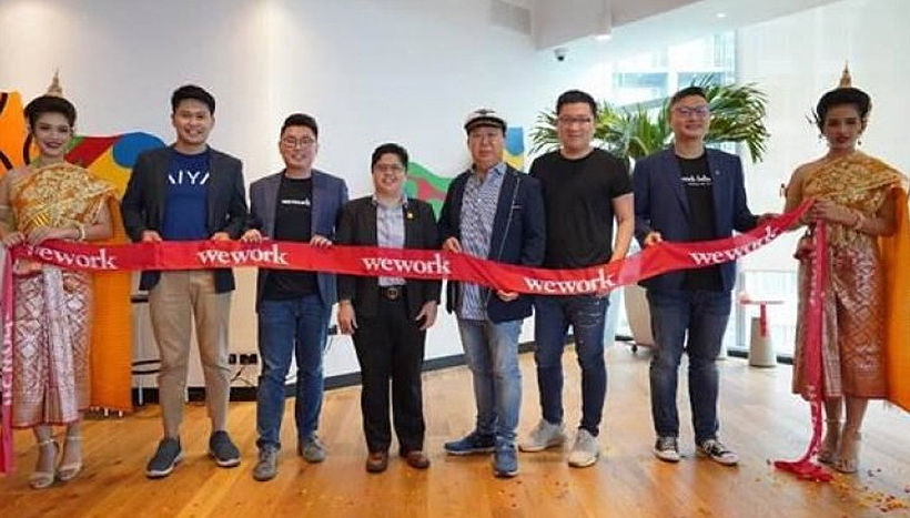 WeWork opens up in Bangkok. What is WeWork? | News by The Thaiger