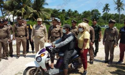 Koh Pha Ngan rapist participates in reenactment of rape of Norwegian tourist | The Thaiger