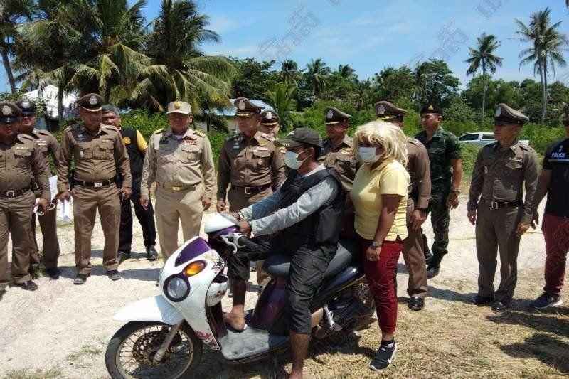 Koh Pha Ngan rapist participates in reenactment of rape of Norwegian tourist | Thaiger