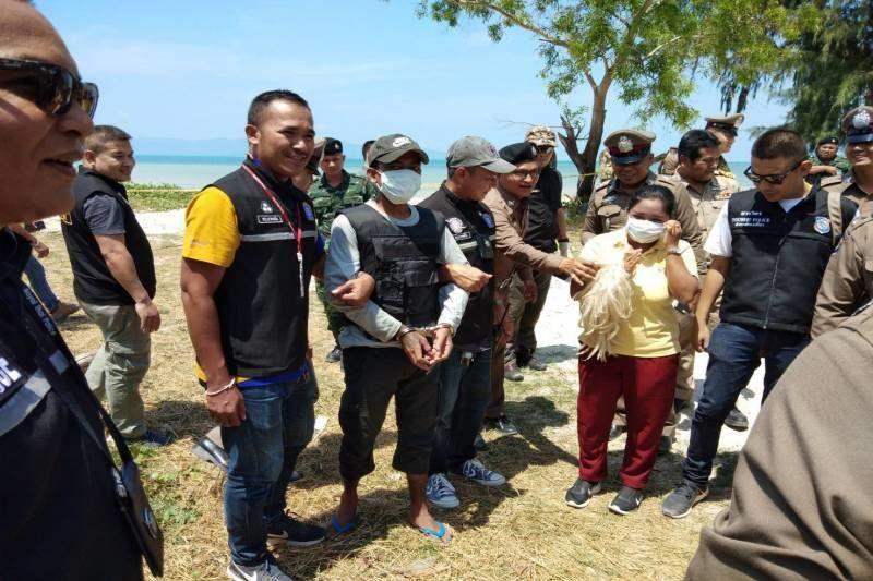 Koh Pha Ngan rapist participates in reenactment of rape of Norwegian tourist | News by Thaiger