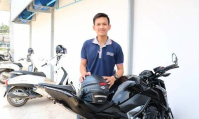 Thailand's hero of the day: Phitsanulok big-biker 'Tik' | The Thaiger
