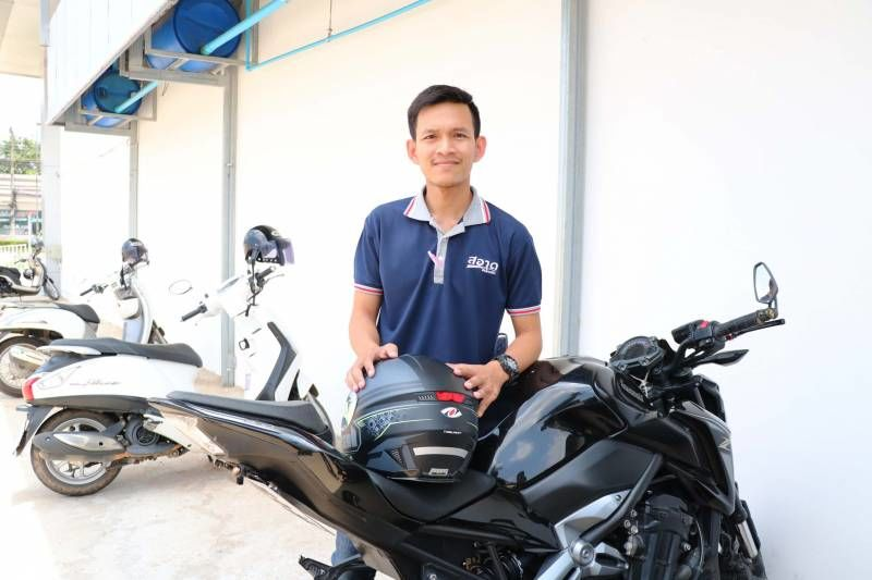 Thailand's hero of the day: Phitsanulok big-biker 'Tik' | The Thaiger