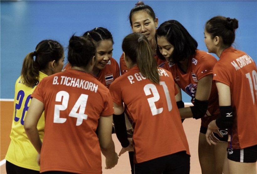 ตารางแข่งขันวอลเลย์บอลหญิงคัดโอลิมปิกรอบแรก ไทยเจอศึกหนัก โปแลนด์ เซอร์เบีย | News by The Thaiger