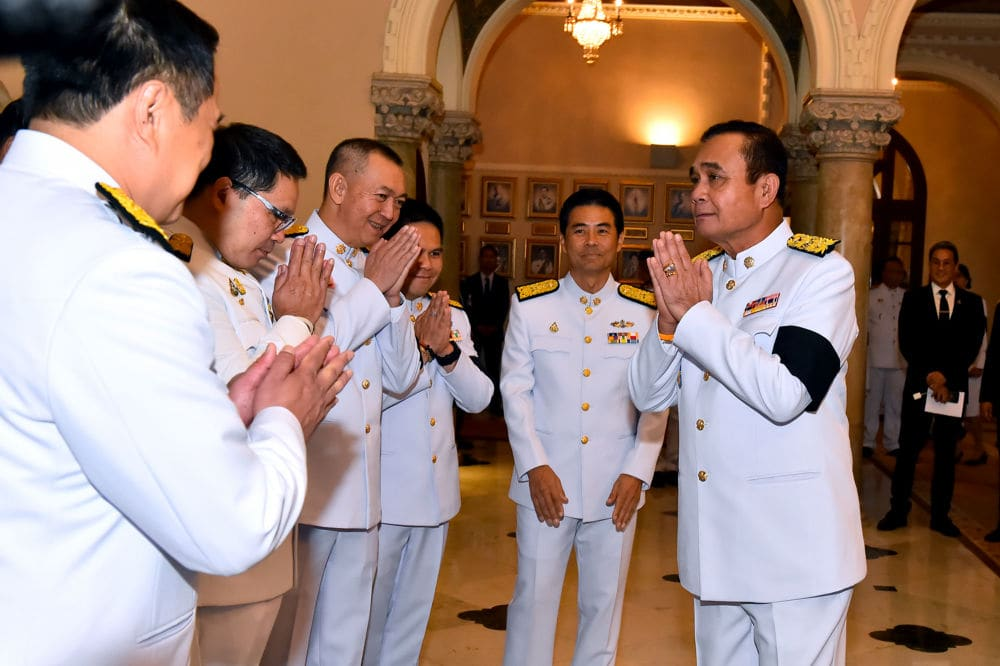 Prayut sworn in as 29th Thai PM. Cabinet appointments remain unresolved.   The Thaiger