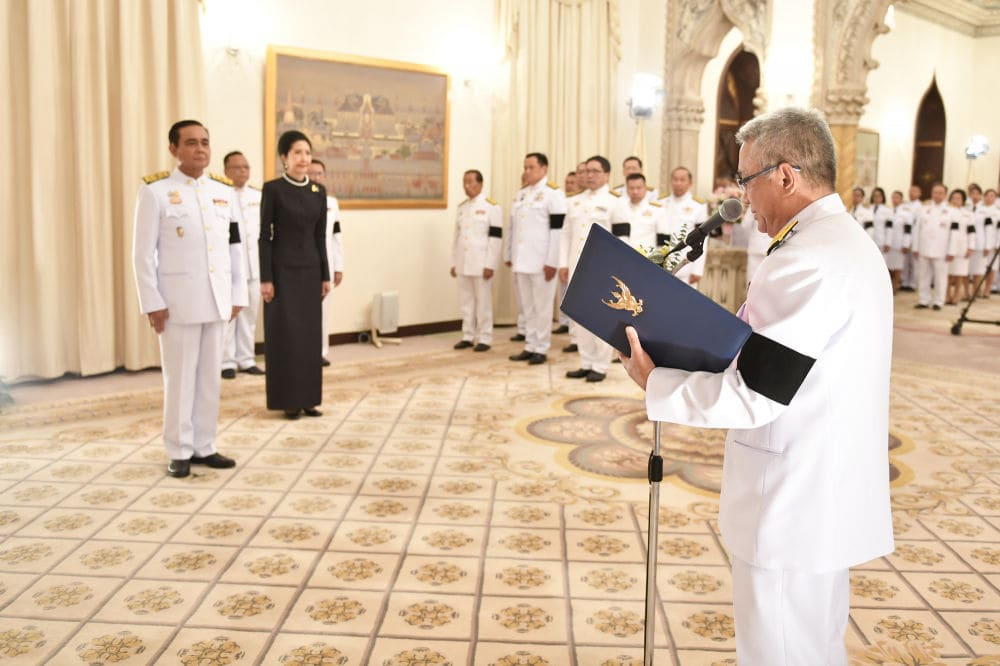 Prayut sworn in as 29th Thai PM. Cabinet appointments remain unresolved. | News by Thaiger