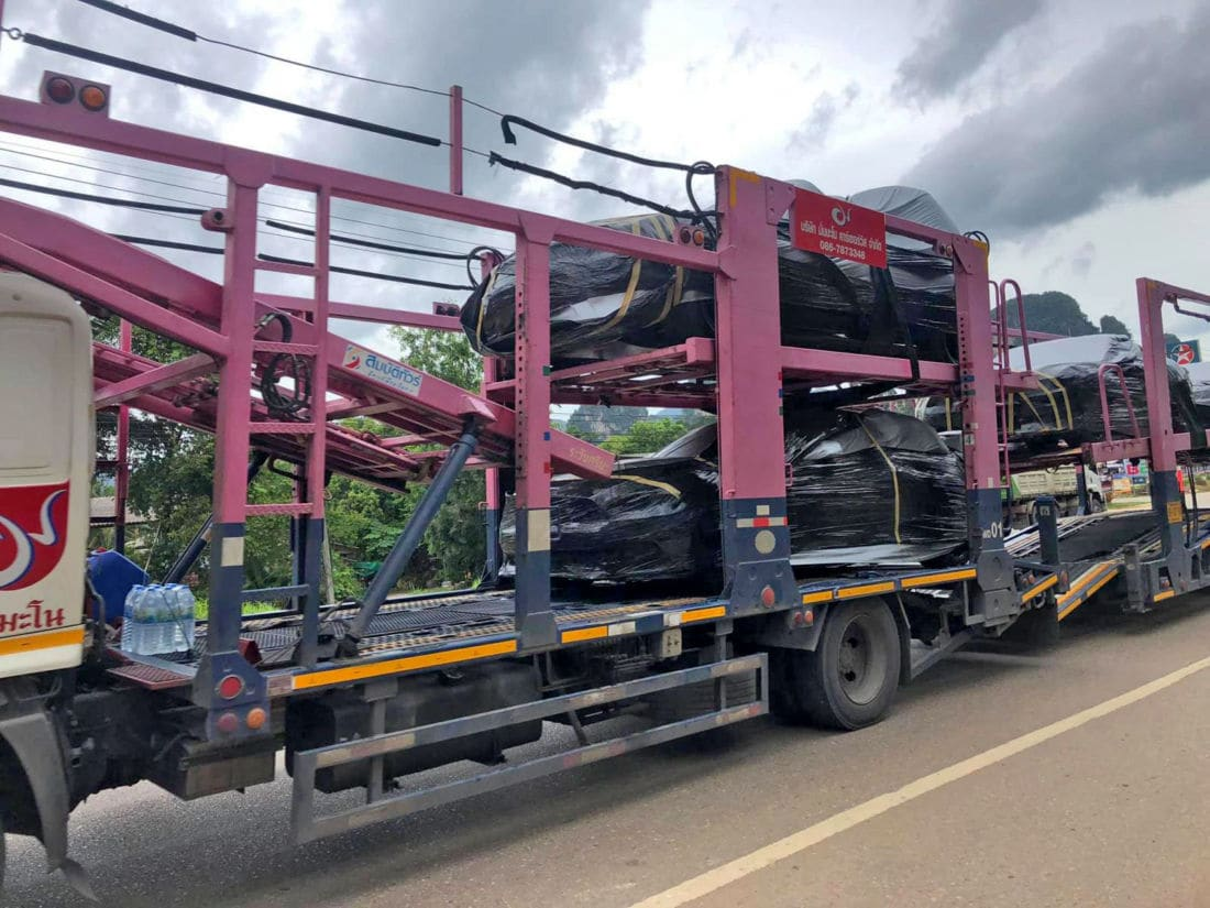 Hot wheels head for Thailand's south - 'Fast and Furious 9' cars arrive | News by Thaiger
