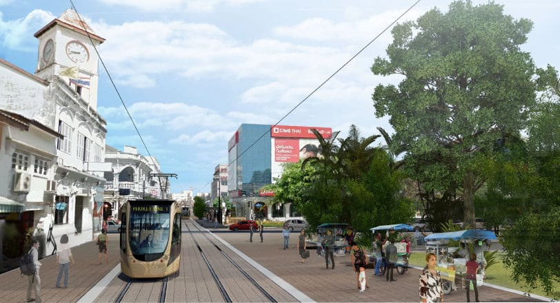 Final design for Phuket Light Rail wrapped up next week | The Thaiger