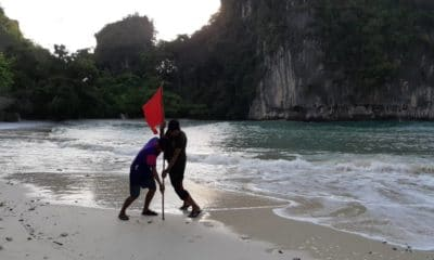 Red swimming flags out at Koh Hong in Krabi | The Thaiger