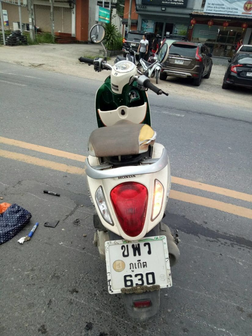 Motorbike driver crushed by cement truck in Thalang, Phuket | News by The Thaiger