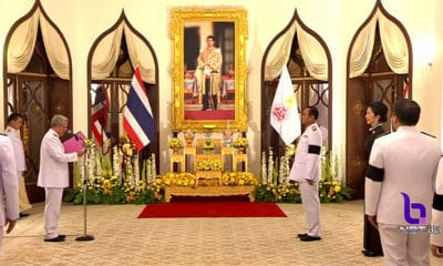 PM Prayut receives Royal endorsement at Government House, Bangkok | The Thaiger