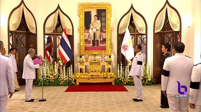 PM Prayut receives Royal endorsement at Government House, Bangkok   The Thaiger