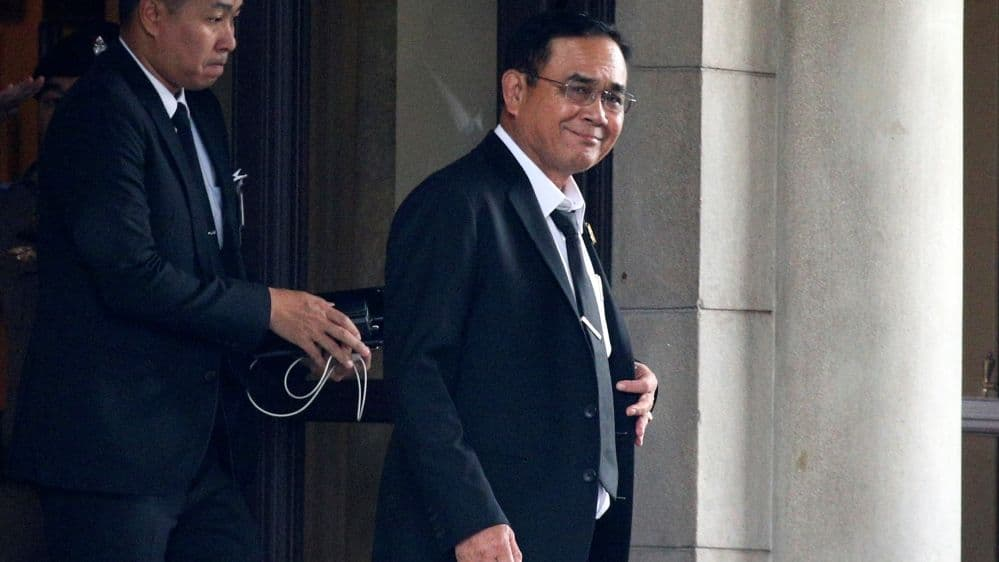 Thai PM Prayut thanks MPs for re-electing him to the position of prime minister | The Thaiger